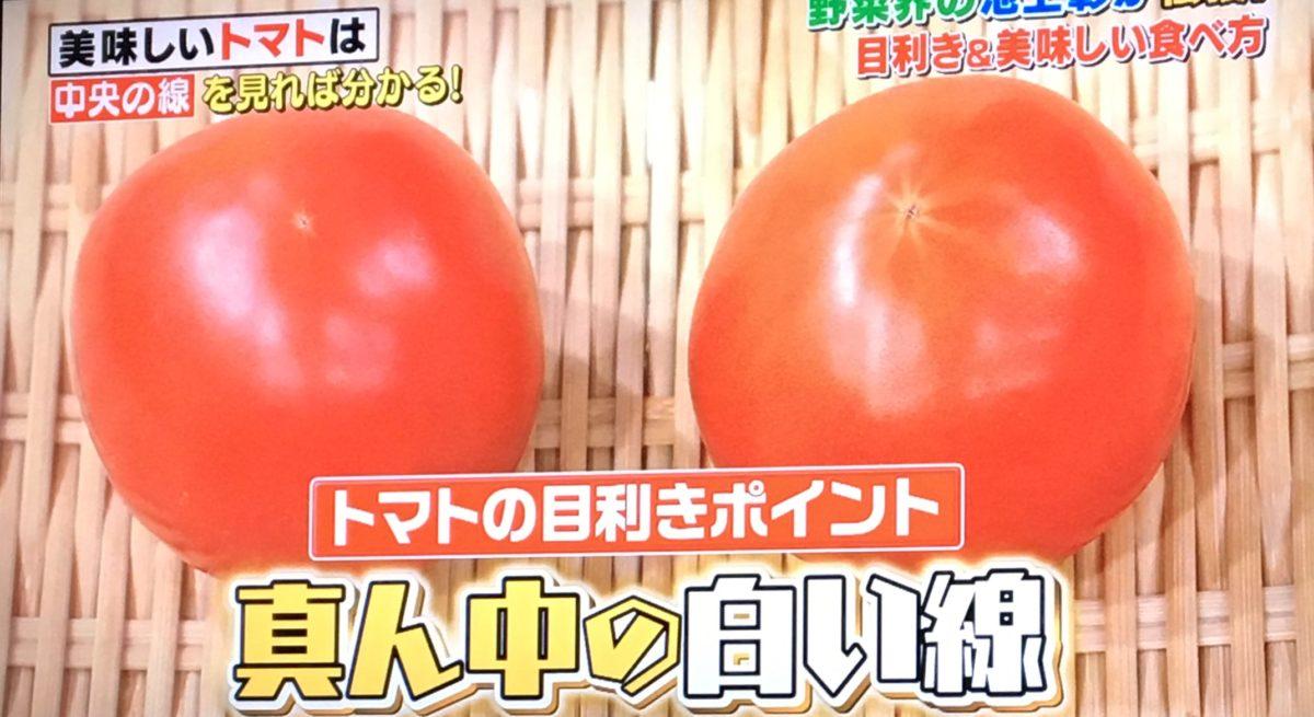 トマトの目利きポイント