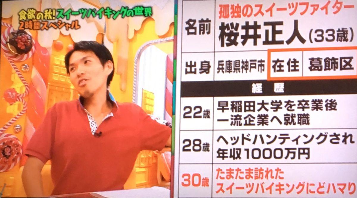 桜井のプロフィール