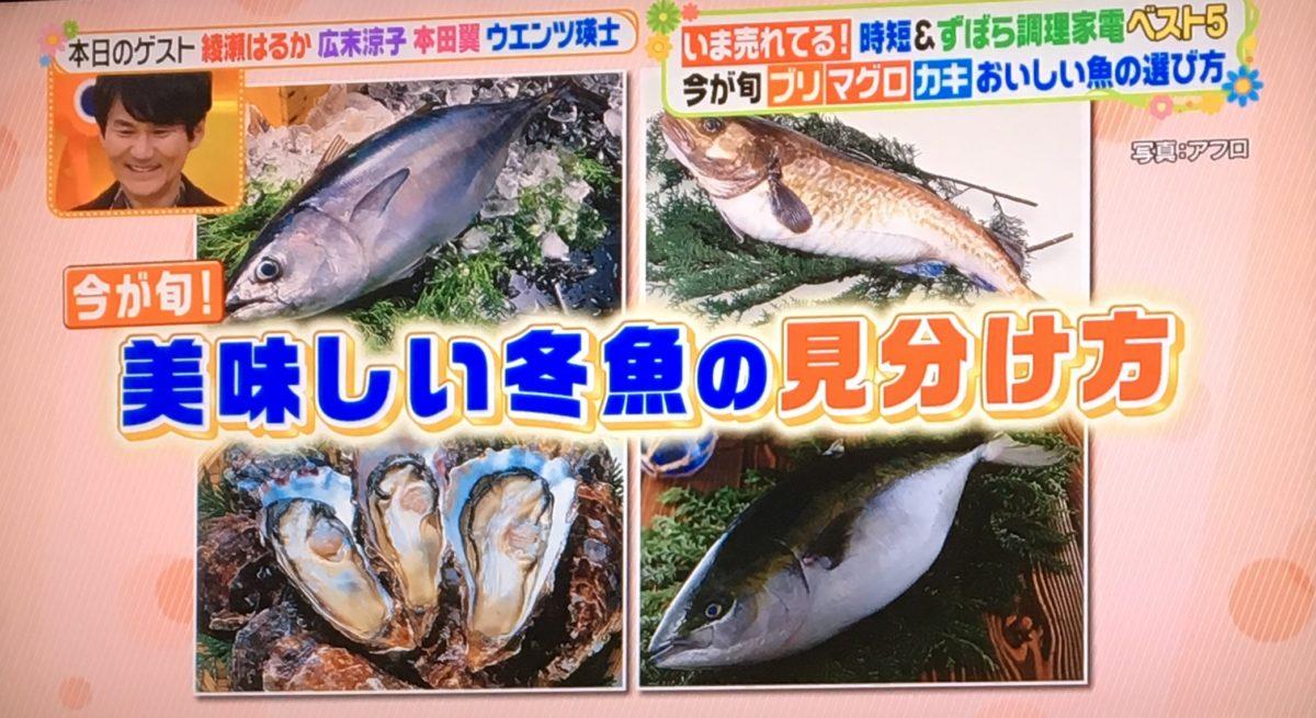 魚の見分け方