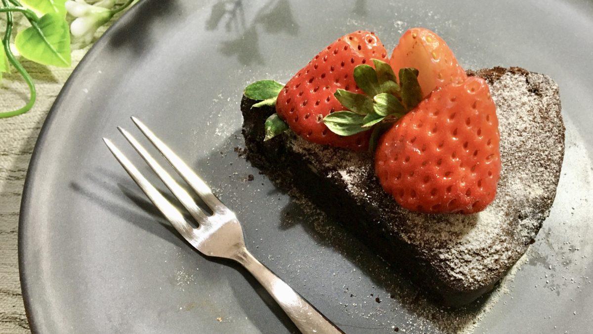 ヒルナンデスの豆腐ガトーショコラのレシピ