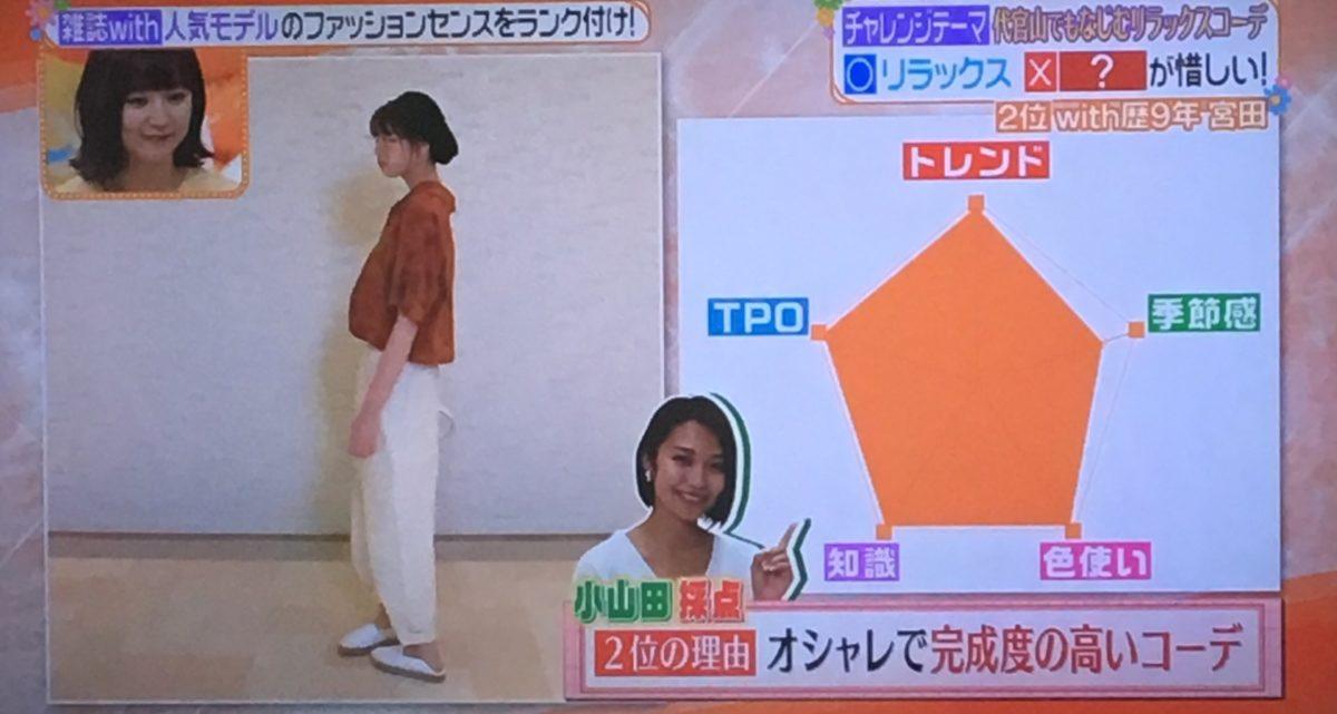 宮田のコーデ