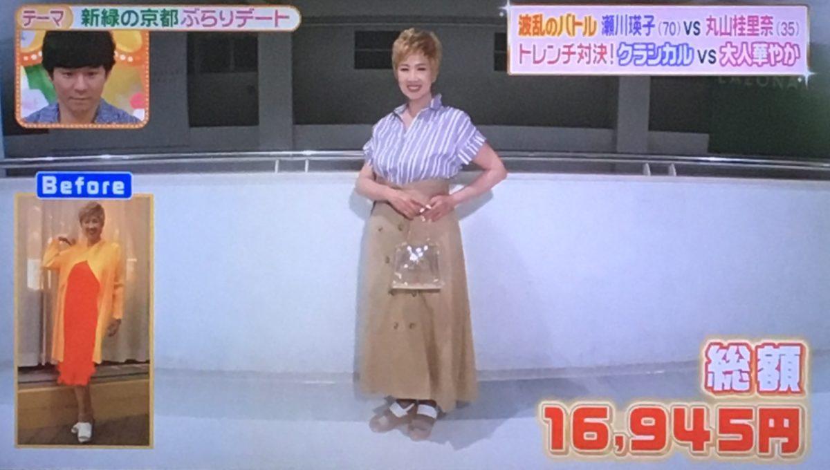 瀬川瑛子のコーデ