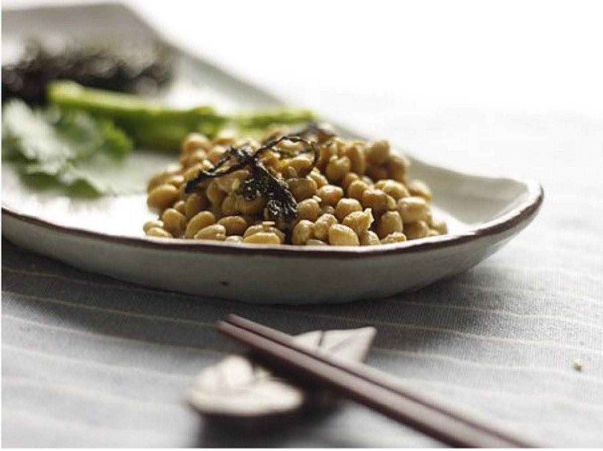 リゾット風納豆