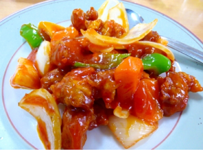 酢鶏のレシピ