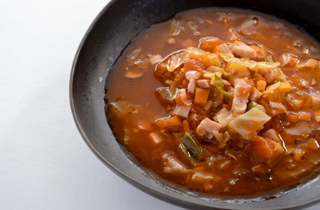 残り野菜のミネストローネのレシピ