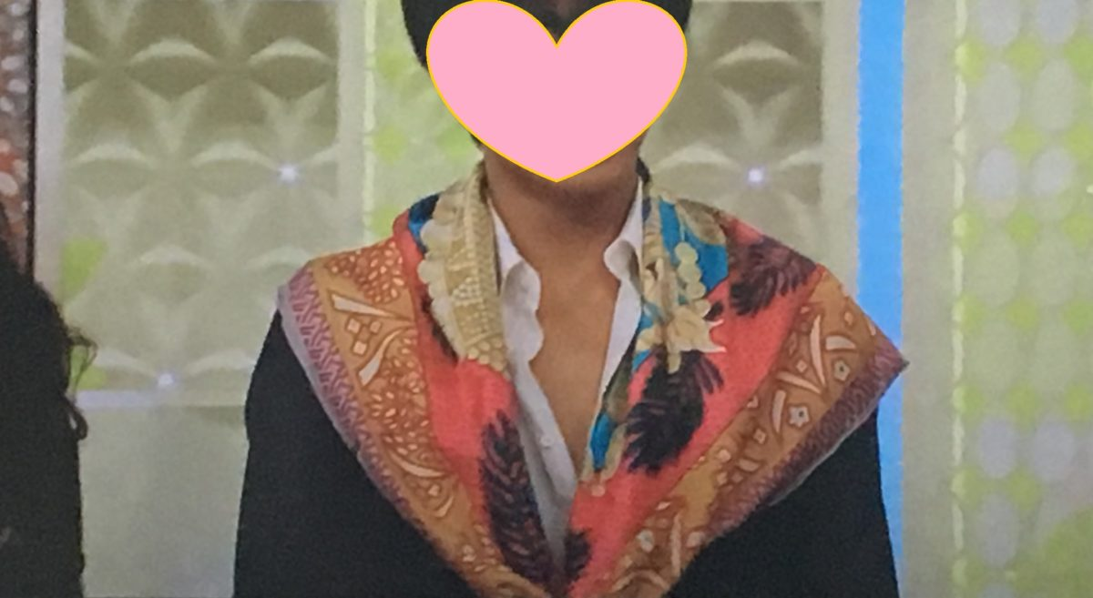 スカーフの巻き方5