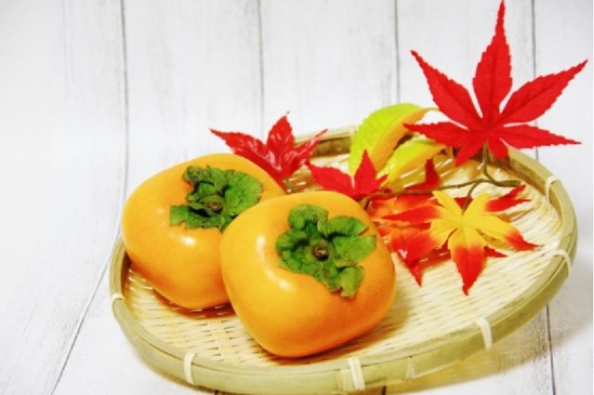 柿のヨーグルト味噌和え
