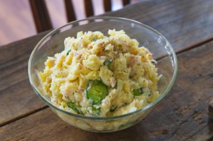 里芋のポテサラ