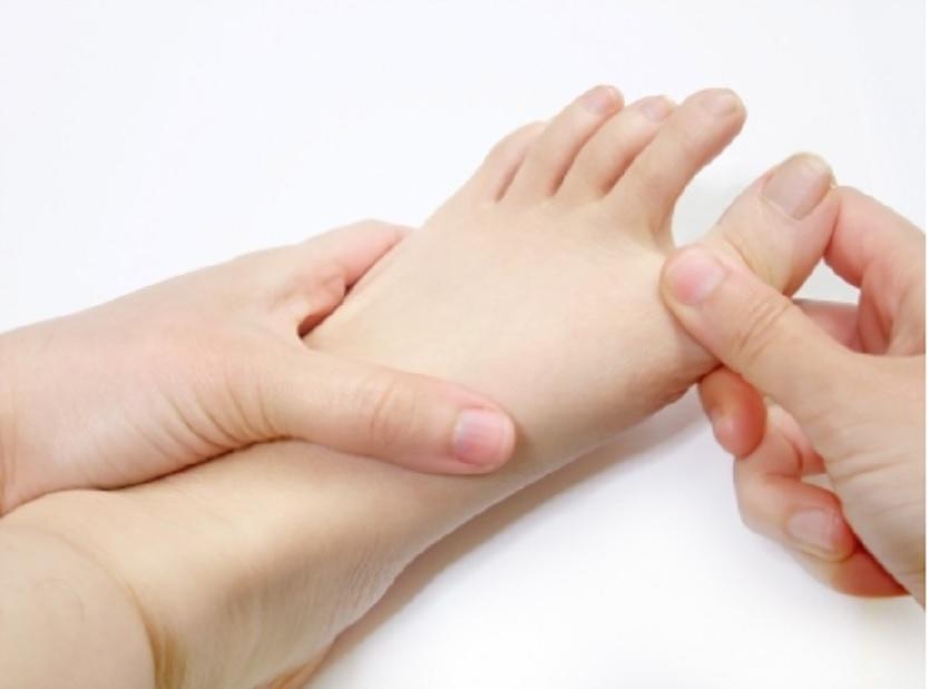 足指のばし