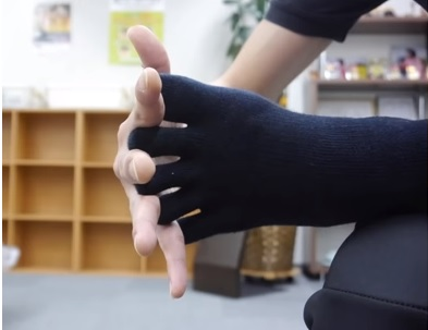 足指のばしのやり方