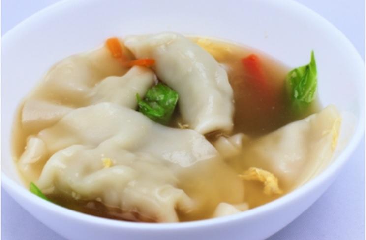 あさイチの餃子スープ
