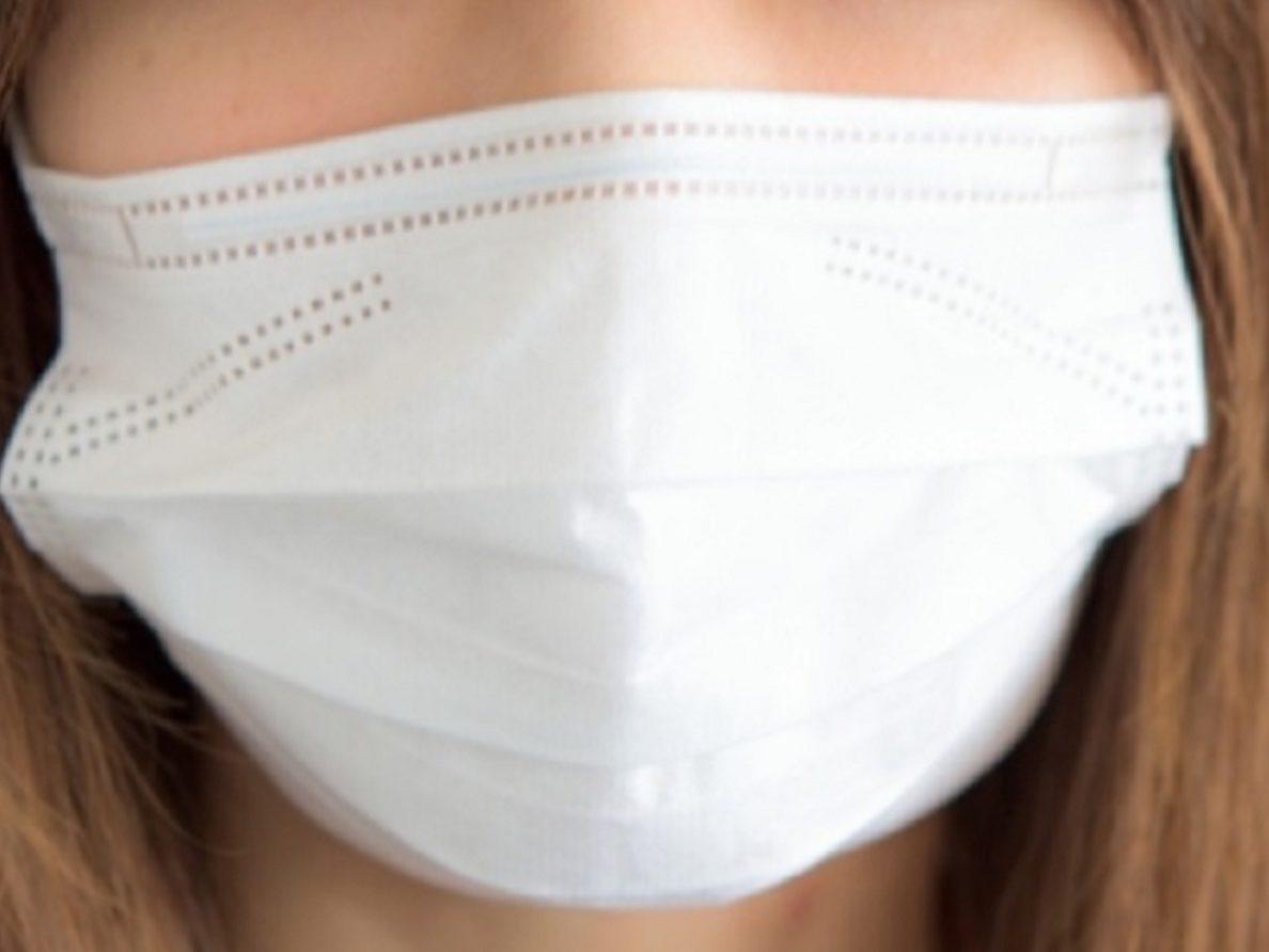 花粉を防ぐマスク