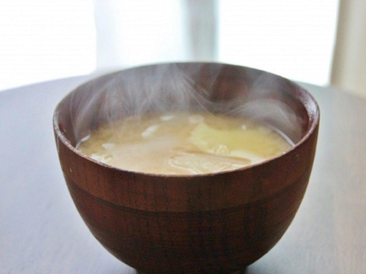 アンコウの味噌汁