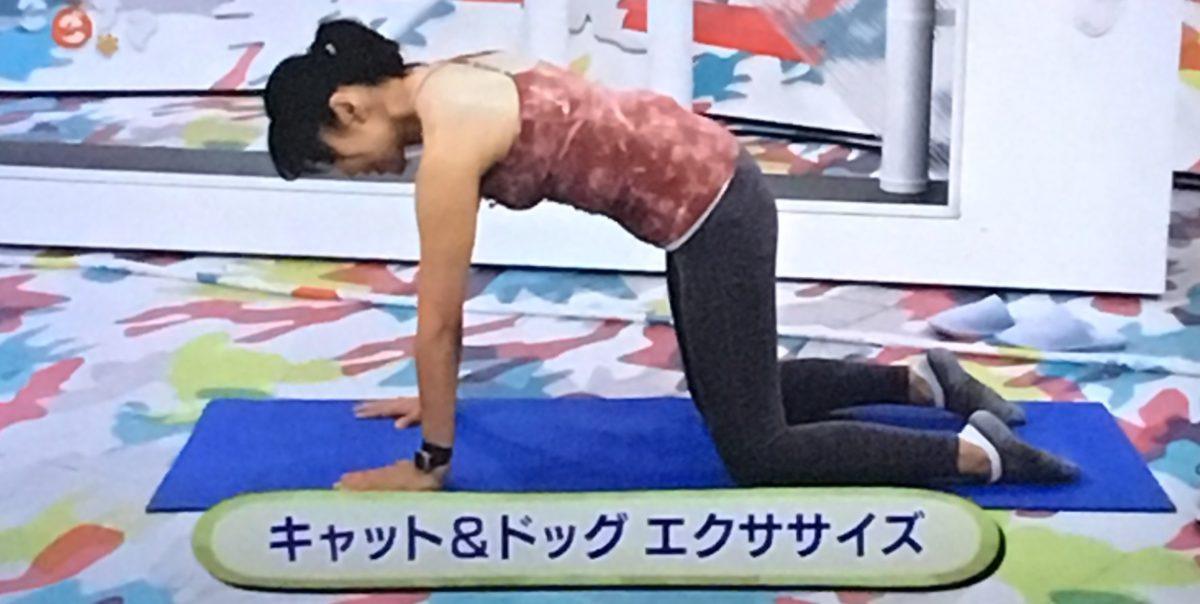 肩甲骨エクササイズのやり方1