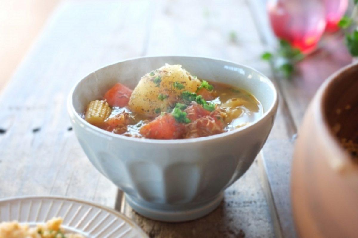 あさイチ!ポークロールと野菜のスープ