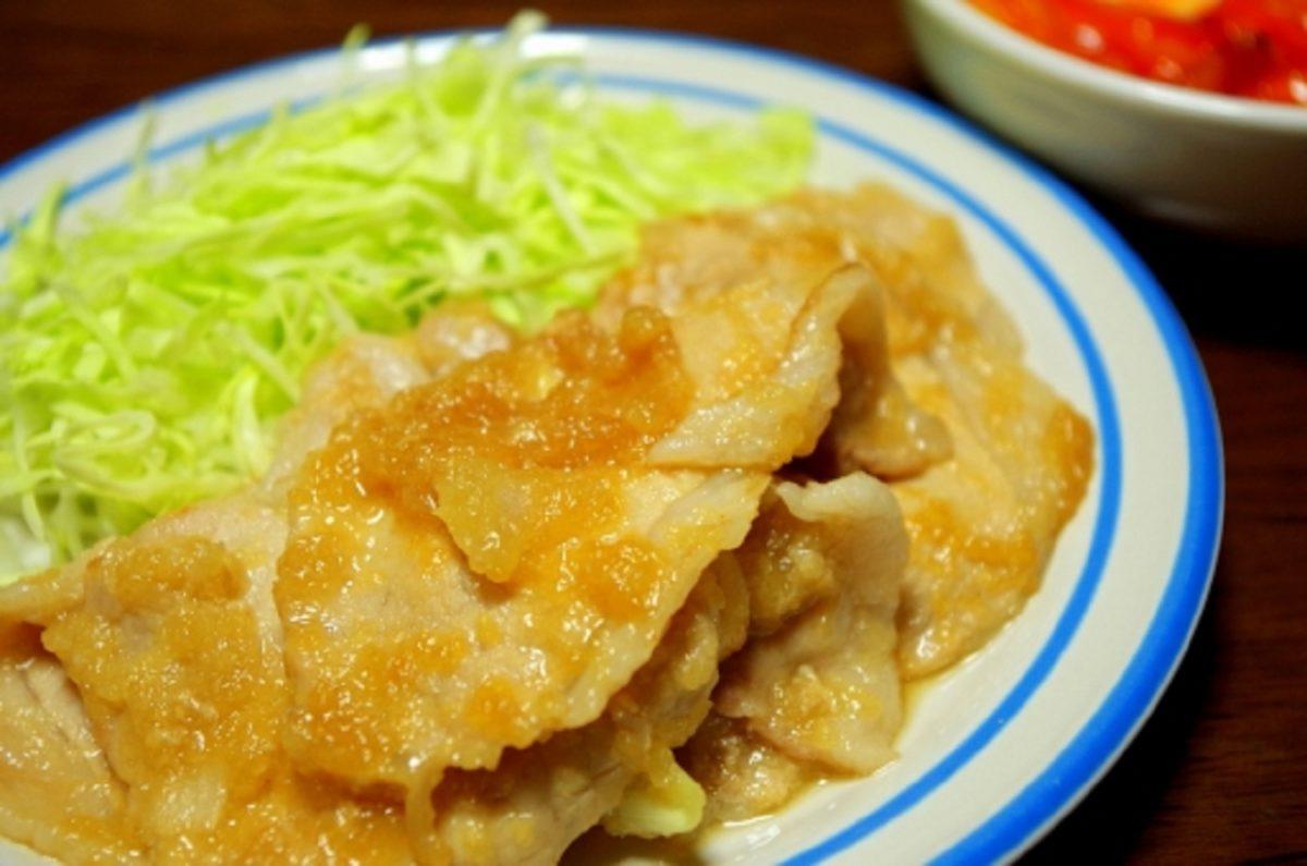 ヒルナンデス!豚肉の生姜焼き