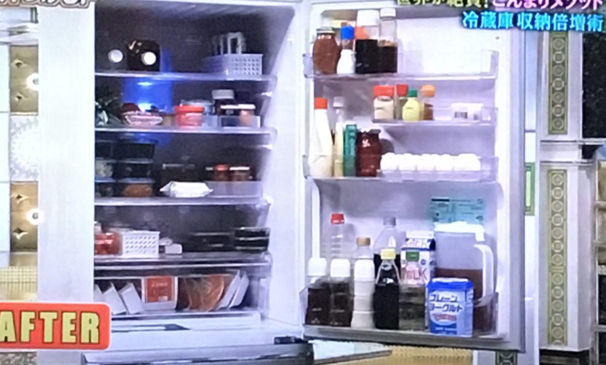 冷蔵室の収納法
