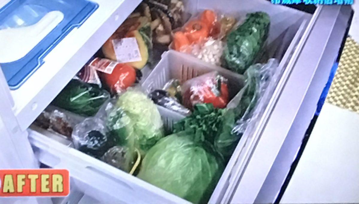 野菜室の収納法