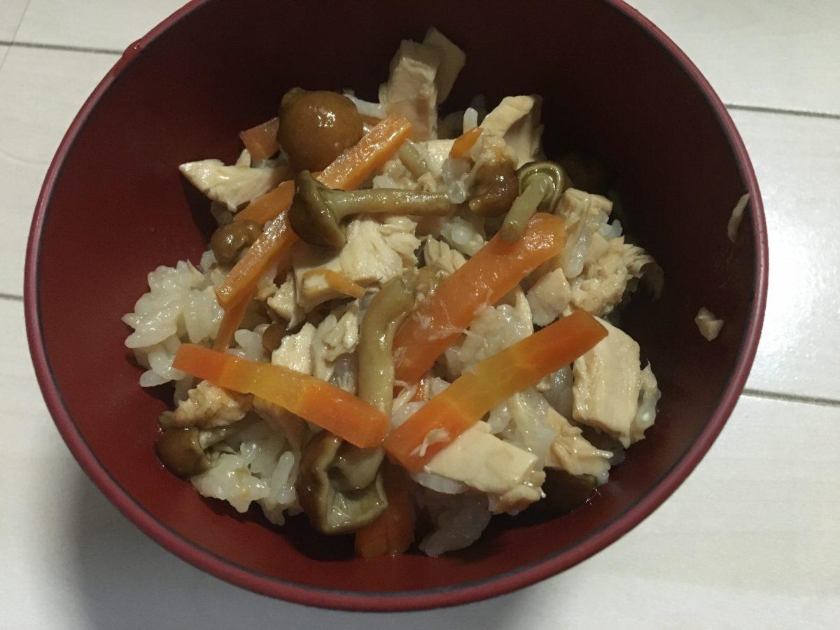 炊き込みご飯の作り方(工程10)