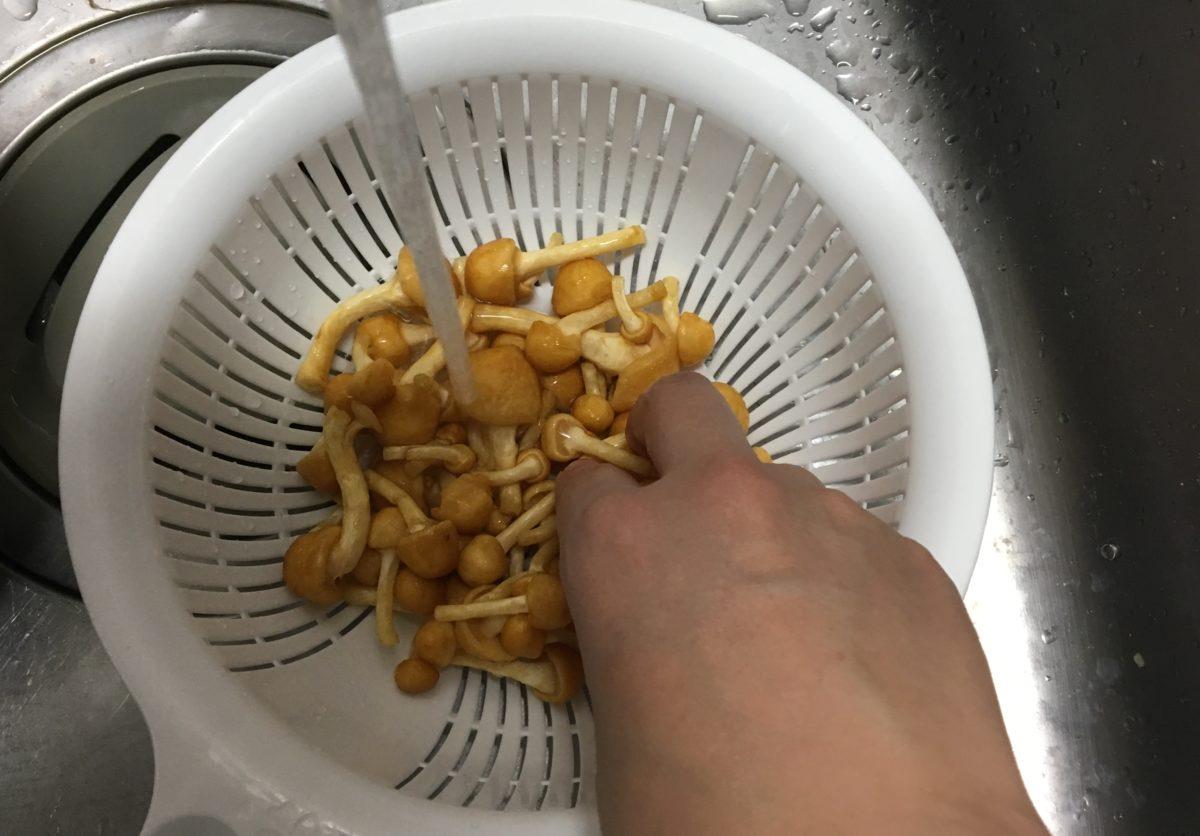 炊き込みご飯の作り方(工程2)