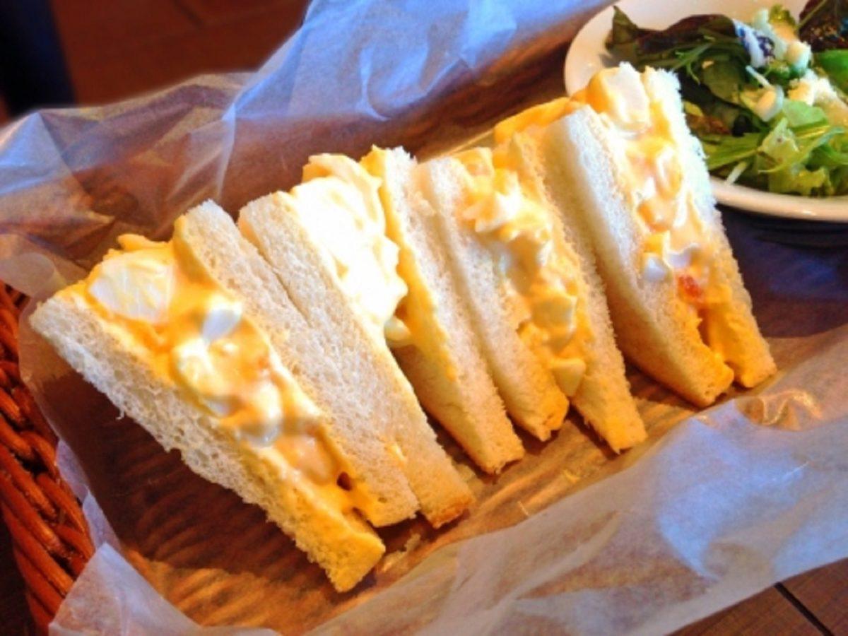 ヒルナンデス!玉子サンドイッチ