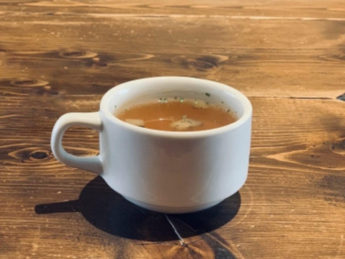 あさイチ!鶏団子とレタスのスープ