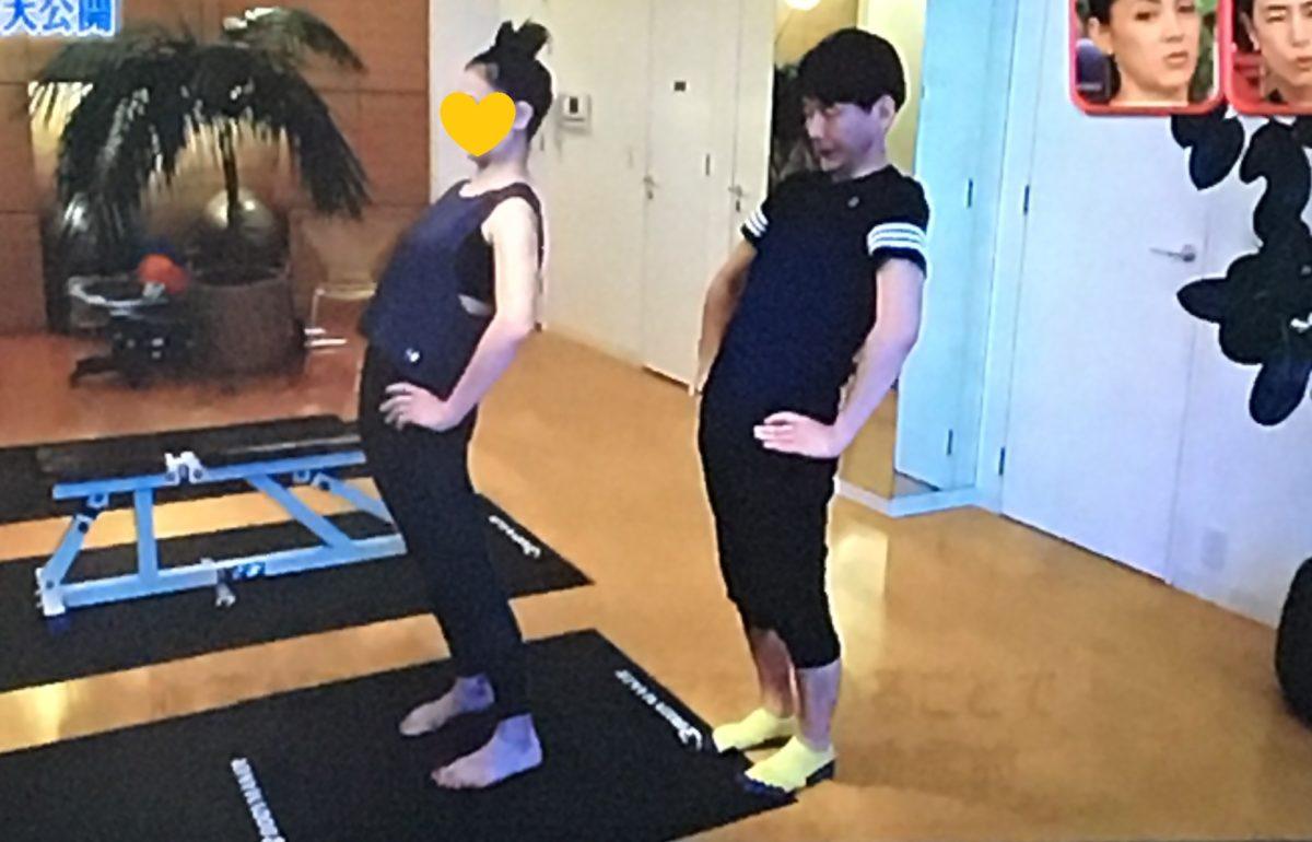 土屋アンナのトレーニング