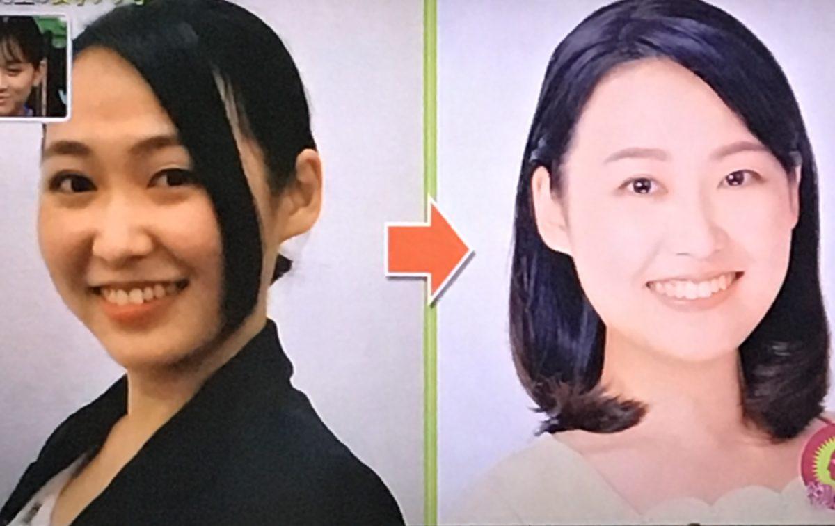 田所七海さんの修正写真
