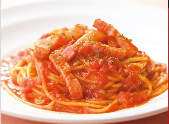 トマトソーススパゲティ