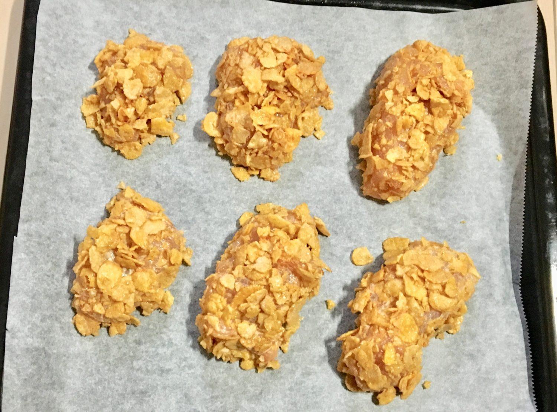 チキンナゲットの作り方(工程5)
