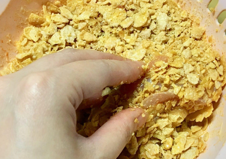 チキンナゲットの作り方(工程4)