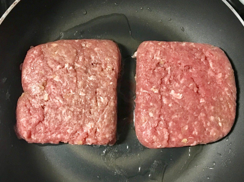 ハンバーグの作り方(工程4)