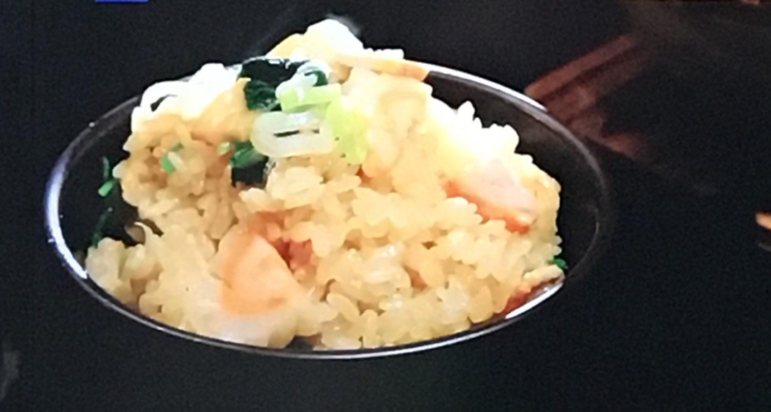 リメイクレシピのラーメン風炊き込みご飯