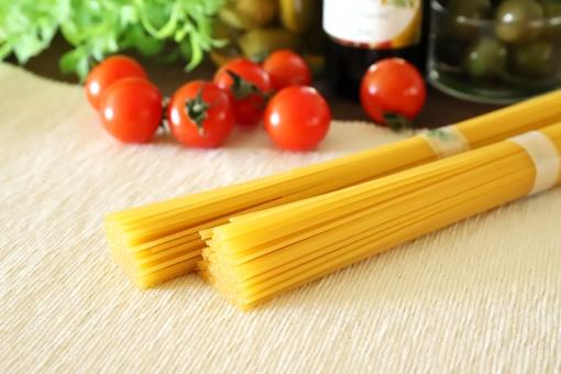 白いきのこたちのスパゲッティ