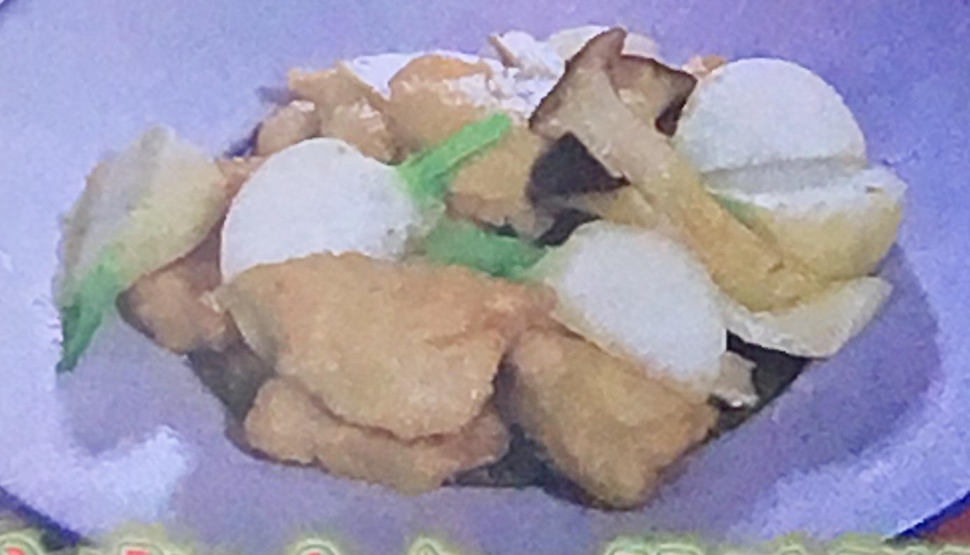 鶏むね肉の炒め物