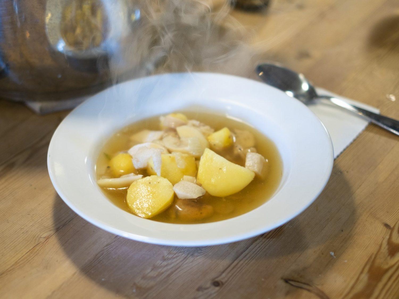 ごごナマの平野レミのきのこスープ