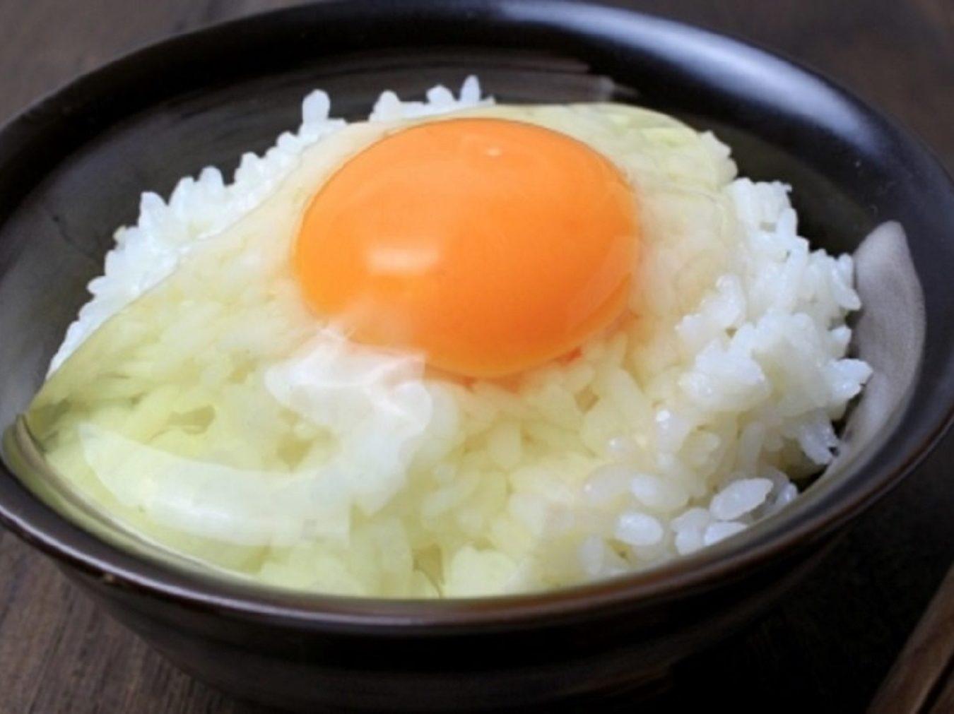 幸せにしてあげるわよ!卵かけご飯