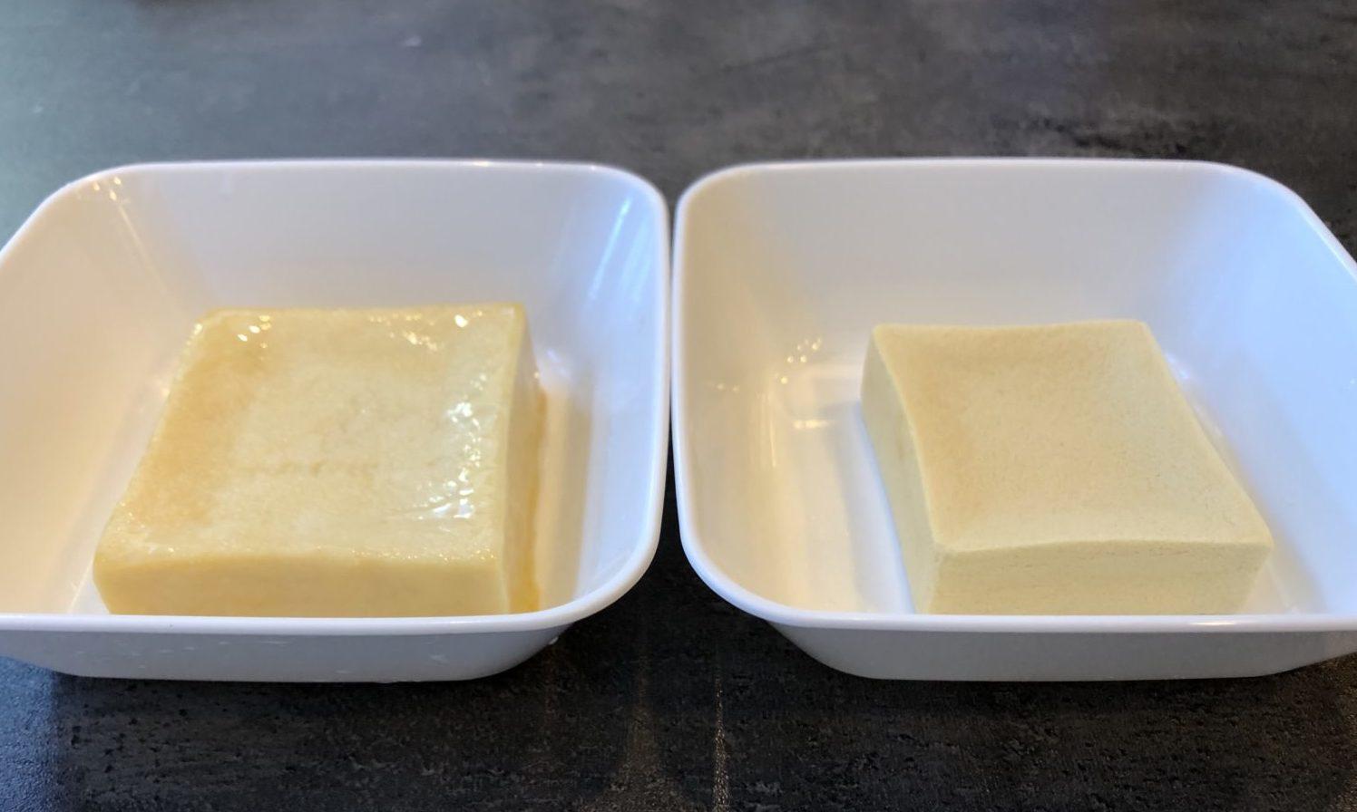 高野豆腐フレンチトーストの作り方(工程1-1)