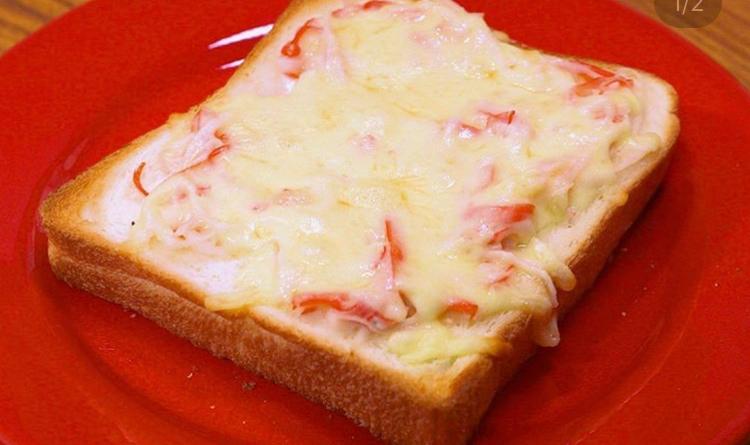 カニクリームトースト