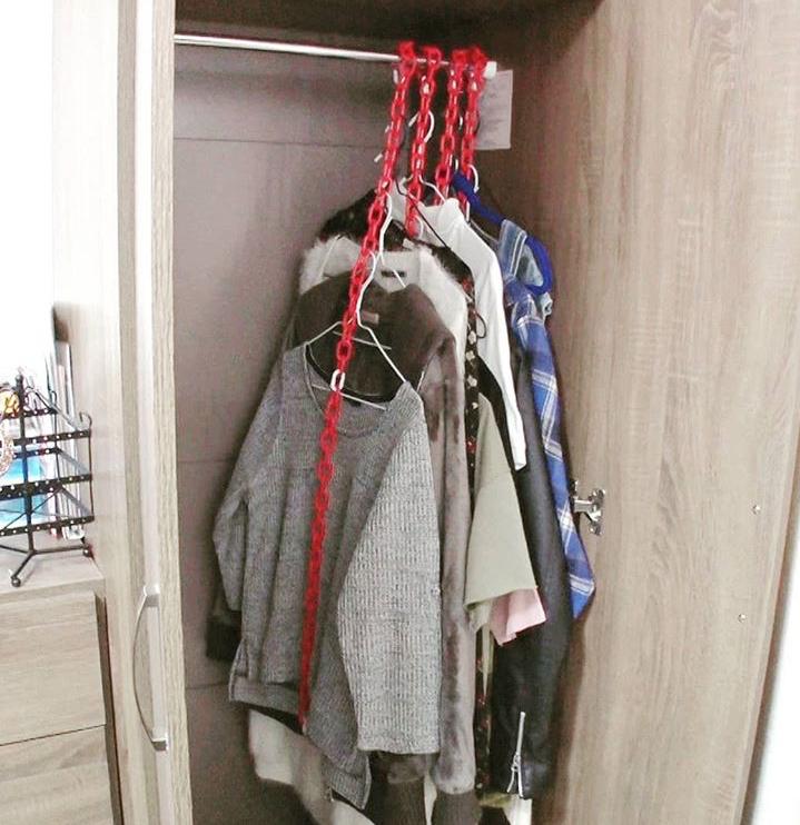 洋服収納のやり方