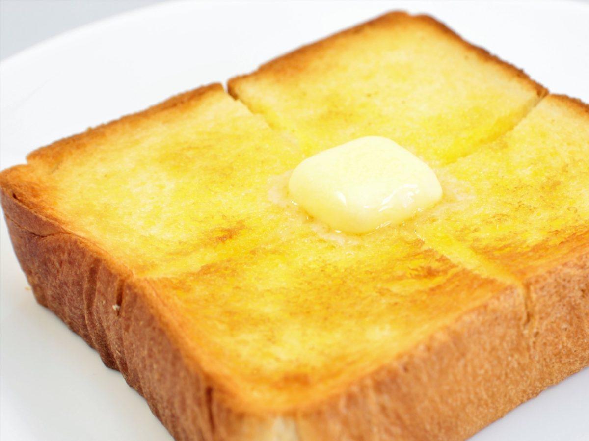 家事ヤロウのバタートーストのレシピ