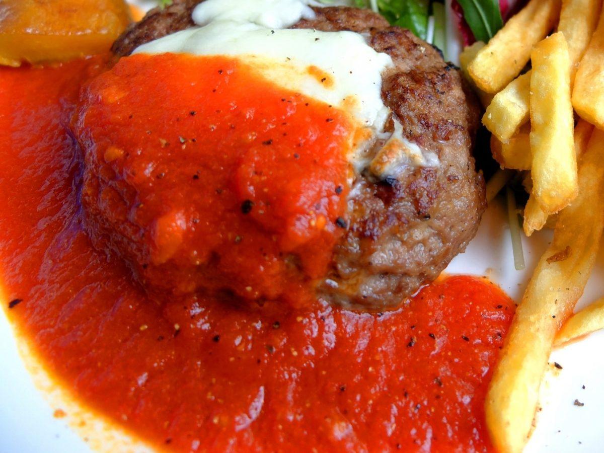 あさイチのトマト煮込みハンバーグ