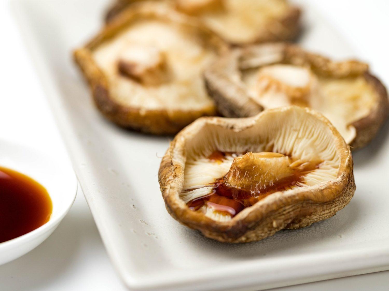 ごごナマのジャンボ椎茸のステーキ