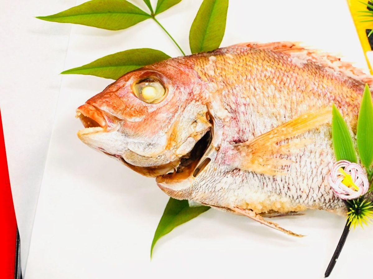 あさイチのもみじ鯛の姿揚げレシピ