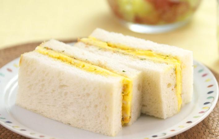 ふわとろ卵焼きサンドのレシピ