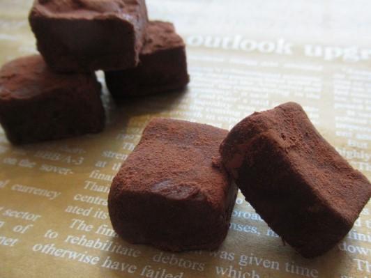 豆腐の生チョコ風スイーツのレシピ