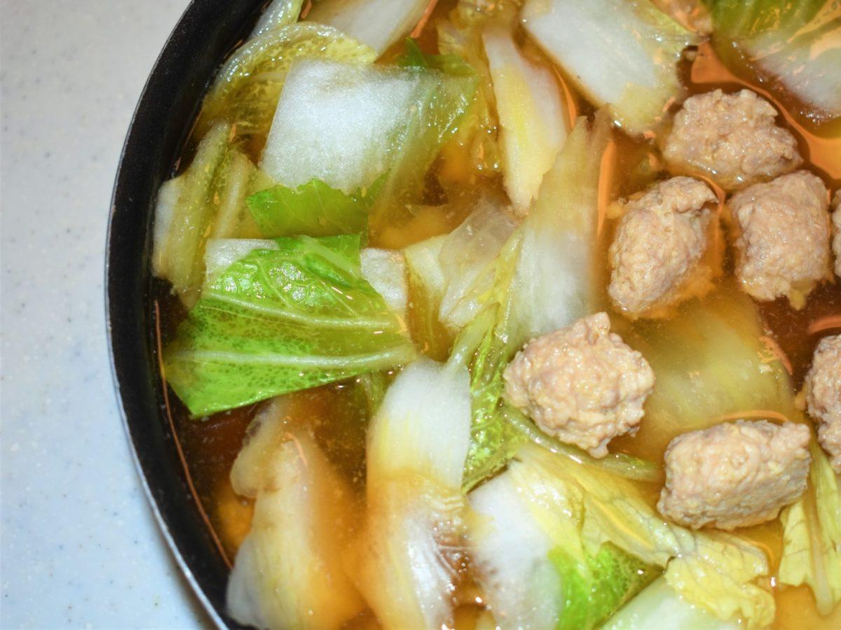 ソレダメの田中美佐子の鶏団子鍋