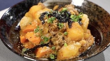 ヒルナンデスの木金レシピの韓国風肉じゃが