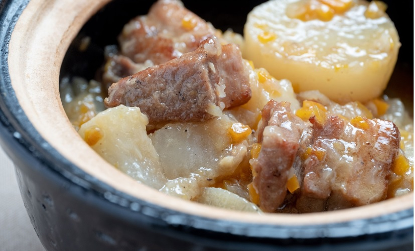ごごナマの大根と豚バラ肉のビール鍋レシピ