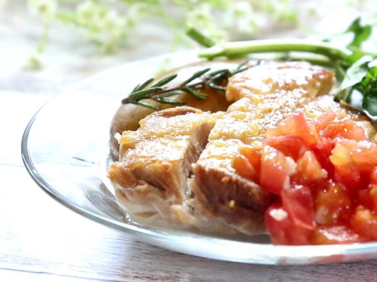 メレンゲの気持ちの片岡シェフの鶏もものグリルレシピ